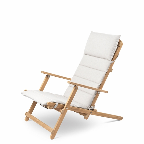 Carl Hansen & Son BM5568 Outdoor Lounge Set with Cushions, Teak Untreated
