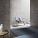 Carl Hansen & Son CH07 Shell Chair, Walnut Lacquer, Loke 7150 Leather
