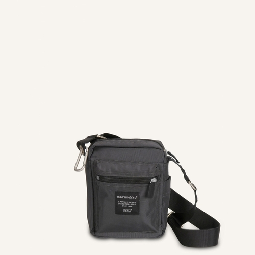 Marimekko Cash & Carry Bag, Coal