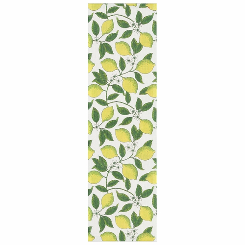 Ekelund Weavers Citroner Table Runner, 14 x 47 inches