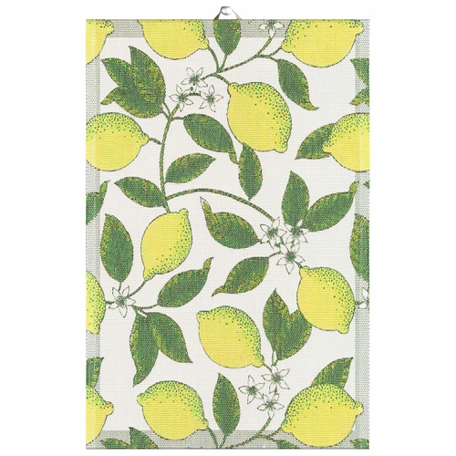Ekelund Weavers Citroner Tea Towel, 16 x 24 inches