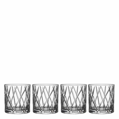 Orrefors City DOF, Set of 4