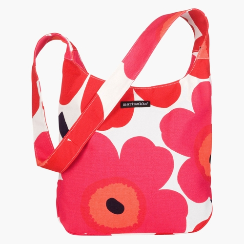 Clover Bag, White/Red