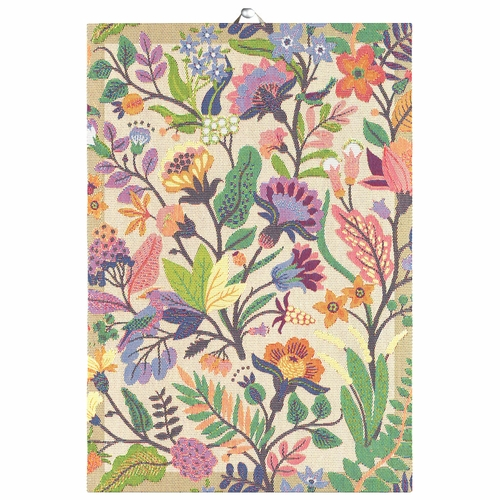 Ekelund Weavers Colourful Tea Towel, 14 x 20 inches