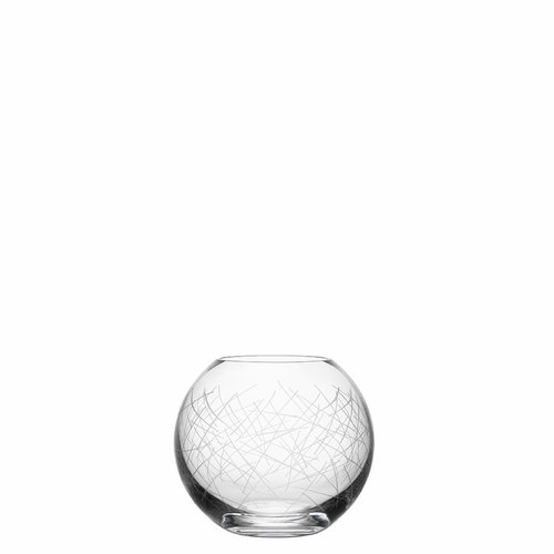 Orrefors Confusion Vase Bowl, Small