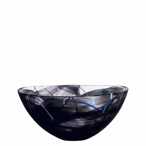 Kosta Boda Contrast Bowl (Large), Black
