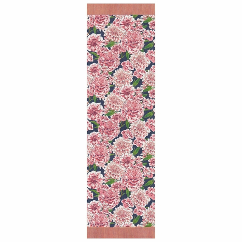 Dahlia Table Runner, 14 x 47 inches