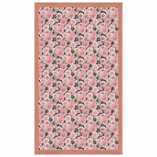 Ekelund Weavers Dahlia Tablecloth, 57 x 98 inches