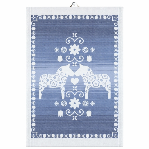 Ekelund Weavers Dalahorse 011 Tea Towel, 14 x 20 inches
