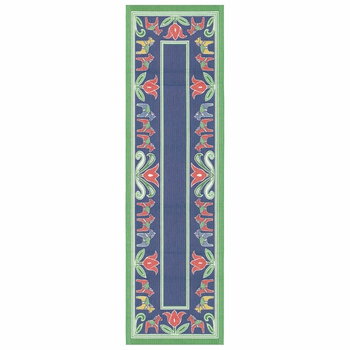 Dalatulpan Table Runner, 14 x 47 inches