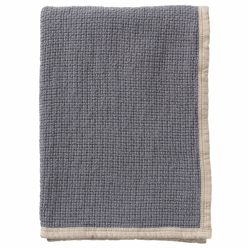 Klippan Decor Organic Cotton Blanket, Warm Grey