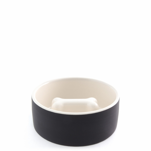 Dog Bowl, Medium - Black