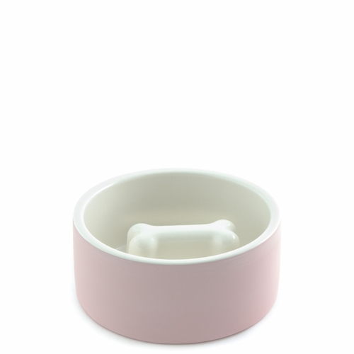 Dog Bowl, Medium - Pink