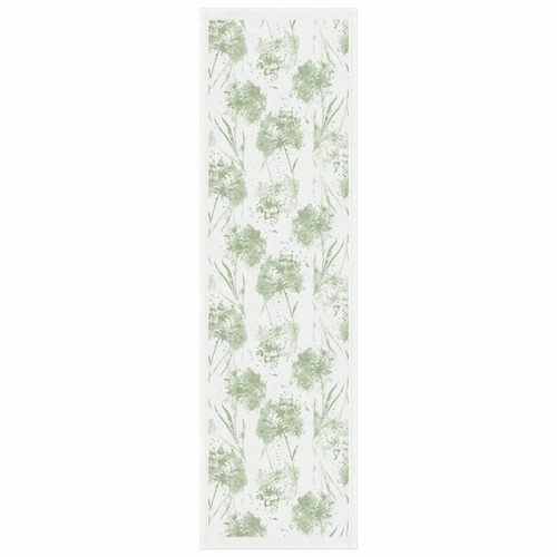 Dry Flowers Table Runner, 14 x 47 inches