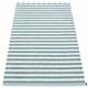 Duo Plastic Rug - Misty Blue, 2 3/4' x 5 1/4'
