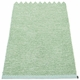 Pappelina Effi Plastic Rug - Pale Turquoise, 2 1/4' x 9 3/4'