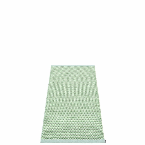 Pappelina Effi Plastic Rug - Pale Turquoise, 2' x 4'