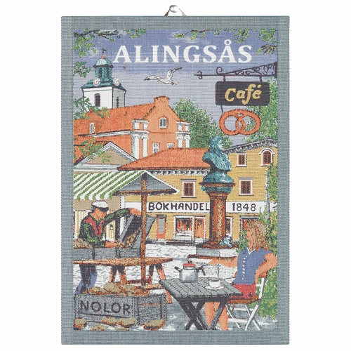 Ekelund Weavers Alingsas Tea Towel, 14 x 20 inches