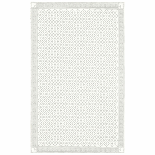 Ekelund Weavers Attebladrose 08 Tablecloth, 59 x 122 inches