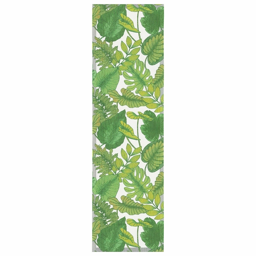 Ekelund Weavers Foliage Table Runner, 14 x 47 inches
