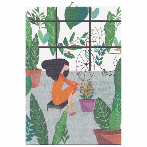 Ekelund Weavers Greenhouse Tea Towel, 14 X 20 Inches