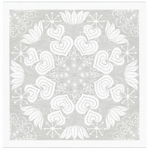 Ekelund Weavers Hjartbo Napkin, Light Grey