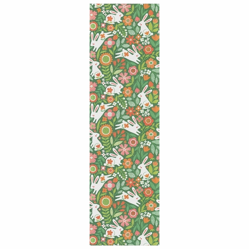 Ekelund Weavers Hoppe Hare Table Runner, 14 X 47 Inches