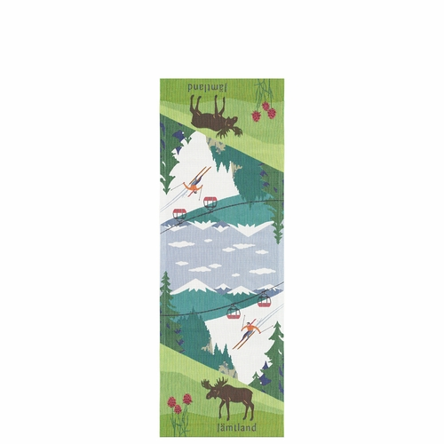 Ekelund Weavers Jamtland Landskap Table Runner, 14 x 39 inches