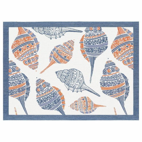 Ekelund Weavers Seashell Placemat, 14 x 19 inches