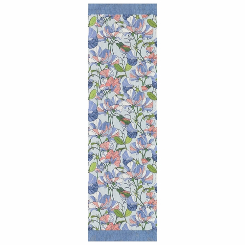 Ekelund Weavers Sommarartor Table Runner, 14 x 47 Inches