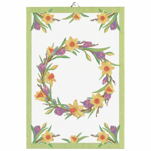 Ekelund Weavers Varfest Tea Towel, 14 X 20 Inches