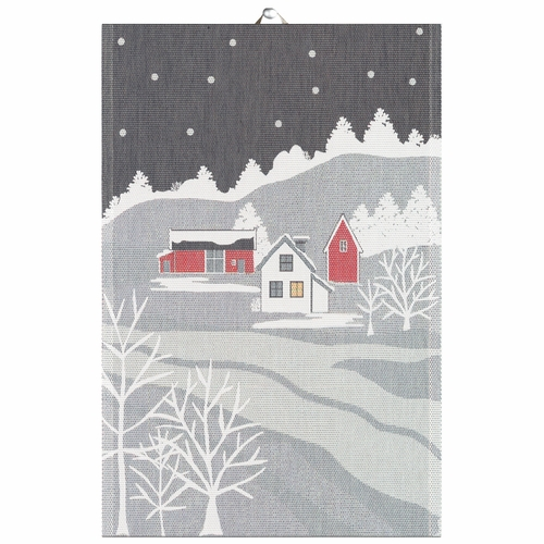 Ekelund Weavers Vinter Tea Towel, 16 x 24 inches