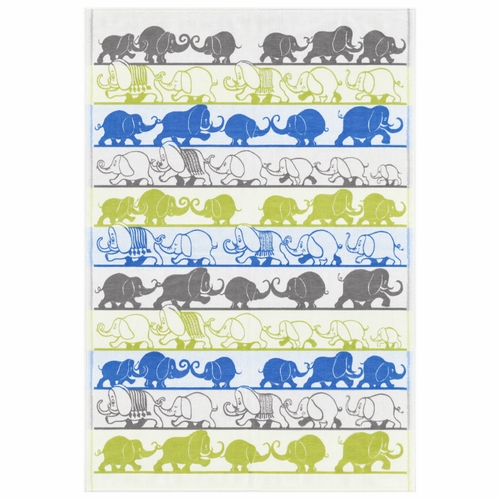 Ekelund Weavers Elefant Baby Blanket 010, 28 x 41 inches