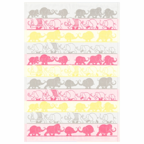 Ekelund Weavers Elefant Baby Blanket 050, 28 x 41 inches
