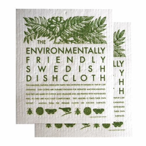 Environmentally Friendly Dishcloth, Set of 2