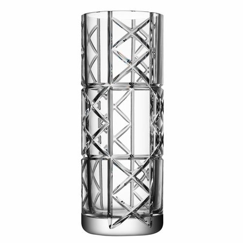 Orrefors Explicit Vase, Checks, Large
