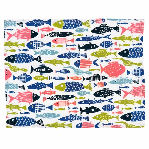 Fish Placemats, Set of 4