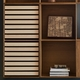FK63 Cabinet and Four Deep Bookcases, Oak with Ash Wood Trays