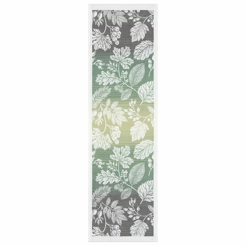 Ekelund Weavers Flytande Gron Table Runner, 14 x 47 inches