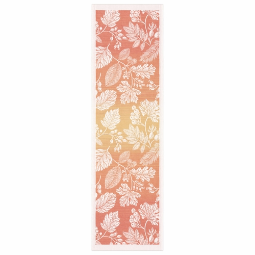 Flytande Orange Table Runner, 14 x 47 inches