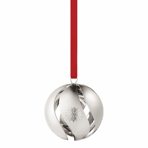 Georg Jensen 2020 Christmas Ball, Palladium Plated
