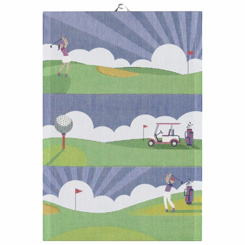 Ekelund Weavers Golf Tea Towel, 14 x 20 inches