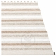 Pappelina Grace Plastic Rug - Fossil, 6' x 8 1/2'