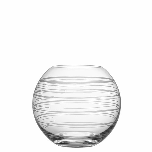 Graphic Vase Round, Medium