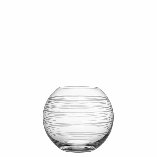 Orrefors Graphic Vase Round, Small
