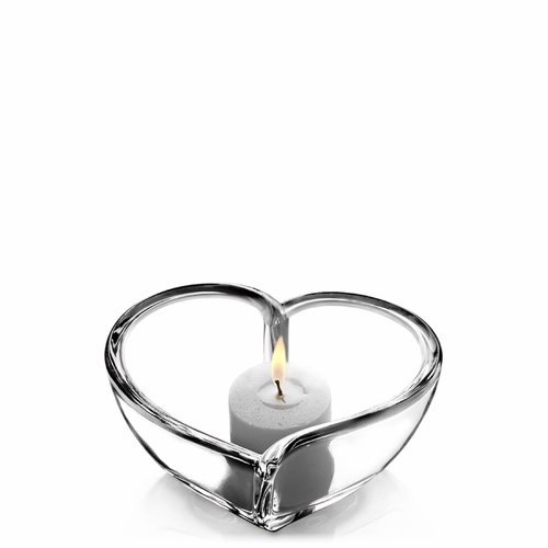 Orrefors Heart Bowl/Votive, Small