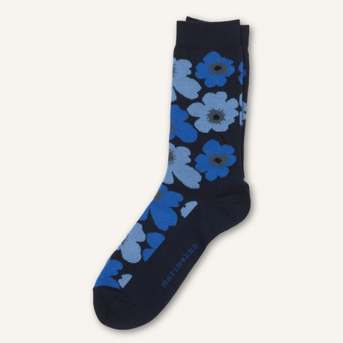 Hieta Socks, Navy/Blue - Size 5-6 (W)
