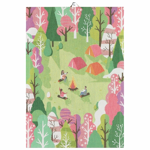 Ekelund Weavers Holidays Tea Towel, 14 x 20 inches