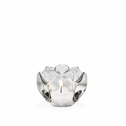 Holmegaard Lotus Candle Holder, Small