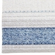 "Horredsmattan Washable Swedish Mixed Rug, Anna Blue - 5'7"" x 7'2"""